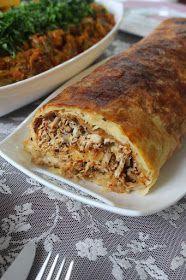 Damat Paçası (Kokoreç Böreği)tavuklu börek
