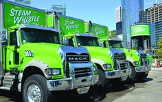 Mack Granite delivers beer to thirsty customers