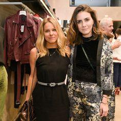 Mari Ribeiro e Camila Assreuy no evento de inauguração do novo AMARO Guide Shop Oscar Freire.