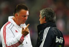 Welcome to sportmasta's Blog.: No mind games with Mourinho, says Van Gaal