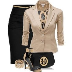 80 Elegant Work Outfit Ideas in 2017 - Are you looking for catchy and elegant work outfits? We all know that there are several factors which control us when we decide to choose something to... - work-outfit-ideas-2017-37 .