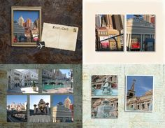 My Travels - #PhotoBook template by Blue Angel! #scrapbooking