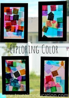 3 Easy Crafts for Kids: Exploring Color with Kiwi Crate and a giveaway
