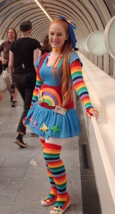 DC Sun-Rainbow Brite by QueenLeaShanneen on DeviantArt Halloween Costumes For Girls, Diy Costumes, Cosplay Costumes, Halloween Party, Awesome Costumes, Halloween 2015, Cosplay Ideas, Halloween Ideas, Costume Ideas