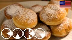 """In Germany there are special variations of doughnuts - without a hole. They are filled with jam or all kinds of cremes and called """"Krapfen"""" or """"Berliner"""". Ev..."""