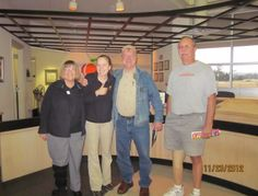 Julius C. Reardon of Alaska was the lucky winner of a 2012 Georgia Travel Guide signed by Lady Antebellum! From left: Betty Gilreath, Karly Helton, and Julius C. Reardon at the Ringgold Visitor Information Center on I-75.