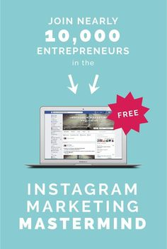This facebook group is THE BEST for anything and everything Instagram. Alex Tooby, instagram expert is the host and she provides awesome advice to everyone who posts. it's a place where you can learn more about instagram and really improve your strategy! a MUST-JOIN facebook group for entrepreneurs!