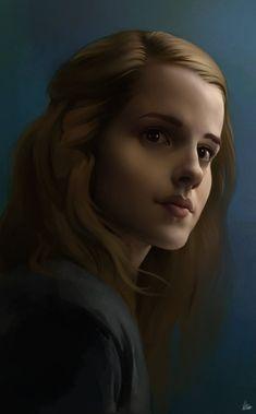 Hermione Sketch by AaronGriffinArt.deviantart.com on @DeviantArt