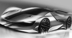 Lamborghini sketch by @farzinnimaa on instagram