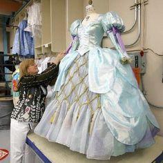 Disney Princess Ariel's parade dress