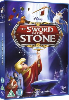 The Sword in the Stone (DVD, Anniversary Edition) Disney Kids Walt Disney, Disney Cinema, Dvd Disney, Great Disney Movies, Streaming Movies, Hd Movies, Movies Online, Movies And Tv Shows, Movie Tv