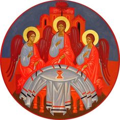 Whispers of an Immortalist: Icons of God 2    The Holy Trinity