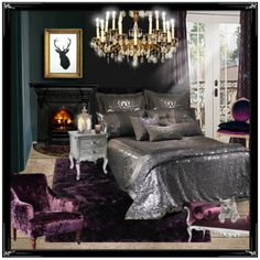 Black Silver Purple Bedroom Modern Suggestions Are With Many And Nowadays Every One Attempting To Make Their Be