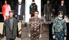 FW 2014 ~ PATTERN GALORE 2014 Fashion Trends, Fashion Week 2015, 2015 Trends, Mens Fashion Week, New York Fashion, Fashion Fall, Paris Fashion, Style Fashion, Fashion Forecasting