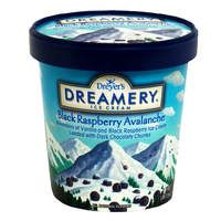 Dreamery Ice Cream, Black Raspberry Avalanche flavor, my all time favorite ice cream ever! Can't find it in stores though...