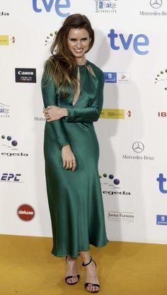 Manuela Vellés en los premios Jose María Forqué 2015