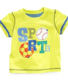 First Impressions Baby T-Shirt, Baby Boys Graphic Tee - Kids Baby Boy (0-24 months) - Macys