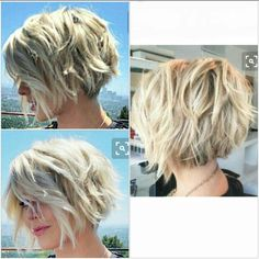 Julianne Hough Short Textured Bob #InterestingThings