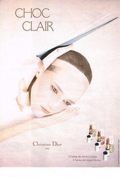 Dior Choc Clair 1979, photographer Serge Lutens