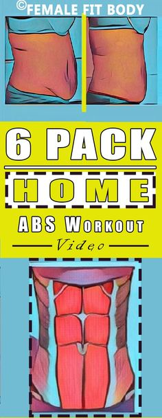 All it takes is few minutes a day:  6 Pack Home ABS Workout