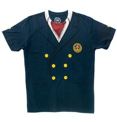 The Port Noonan Yacht Club Ascot Tee. Nice!