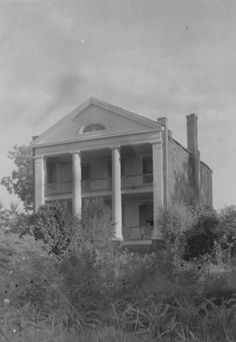 Hickory Hill plantation home near Wilson Louisiana circa 1930s :: State Library of Louisiana Historic Photograph Collection