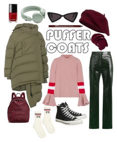 A fashion look from November 2017 featuring red stripe sweater, long sleeve jacket and green trousers. Browse and shop related looks. Forest Floor, Acne Studios, Charlotte Russe, Stella Mccartney, Balenciaga, Converse, Trousers, Fashion Looks, Chanel