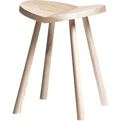 SCP Ulrik - Low Stool ($156) ❤ liked on Polyvore featuring home, furniture, stools, wood and low stool