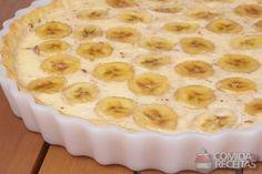 Receita de Torta de banana com canela em receitas de tortas doces, veja essa e outras receitas aqui!