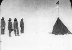 1911, Norwegian explorer Roald Amundsen and his team became the first to reach the South Pole.