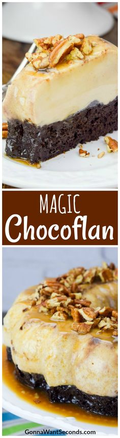 Opposites do attract, and in epic dessert fashion! Discover the charm of Chocoflan – a masterful union of fudgy chocolate cake and creamy vanilla custard. Just Desserts, Delicious Desserts, Sweet Desserts, Chocoflan Recipe, Cupcake Recipes, Dessert Recipes, Flan Cake, Chocolate Desserts, Chocolate Cake