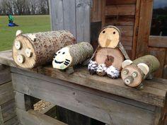 Image result for forest school woodwork