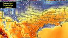 Forecast Roundup for Today Good morning and happy Thursday! A cold front is making progress through the state this morning. As of this typing, it has moved through the panhandle, northwest Texas and is currently pushing through the DFW metro area. Winds will pick up behind the front and become gusty at 15 to 25mph, but ... Read the whole article at http://texasstormchasers.com/?p=34868 - Jenny Brown