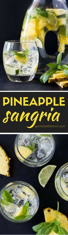 Having a heatwave? Quench your thirst with a pitcher of this uber-refreshing Pineapple Sangria. This easy batch cocktail recipe has only 6 ingredients and can be made a day in advance - perfect for parties!