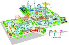 Water Park In Your Backyard . Water Park In Your Backyard . 2014 Cliff S Amusement Park Map In 2019 Indoor Water Park Resorts, Backyard Water Parks, Sims 4 Backyard Stuff, Backyard For Kids, Backyard Ideas, Roller Coaster Images, Roller Coasters, Antalya, Park Landscape