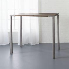 "stilt 42"" high dining table | CB2"