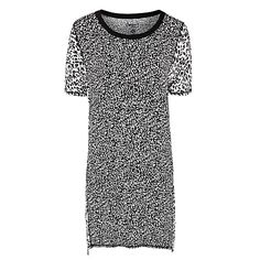 Buy DKNY Short Sleeve Nightdress, Animal Print Online at johnlewis.com