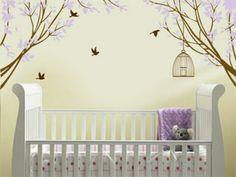 13 décoration avec stickers muraux spécial chambre bébé