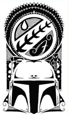 Boba Fett tattoo design
