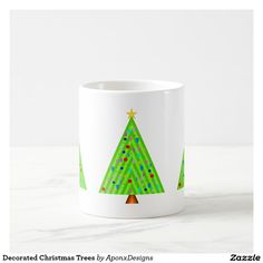 Start your day off right with a custom mug! Sip from one of our many Tree coffee mugs, travel mugs and tea cups offered on Zazzle. Christmas Tree Decorations, Christmas Trees, Custom Mugs, Tea Cups, Coffee Mugs, Tableware, Xmas Trees, Dinnerware, Coffee Cups