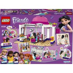 LEGO® Friends - Friseursalon von Heartlake City (41391) Hairdressing Chairs, Iron Man, Avengers, Classic Board Games, All Lego, Lego Group, Family Game Night, Lego Friends, Creative Play