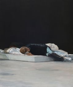 After a first glance at the figures present in Tim Eitel's oil paintings and lithographs, it is probable that they would be met with a. New Leipzig School, Art Berlin, Sleeping Women, Photo Projects, Community Art, Figure Painting, Contemporary Paintings, Figurative Art, All Art