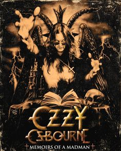 Ozzy Osbourne Poster by DM Mercer on CreativeAllies.com