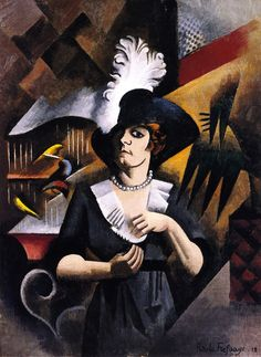 Alice in a Large Hat, 1912 // painting by Roger de la Fresnaye