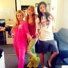 I love that Zendaya is in a shirt and shorts! That's what I wear to bed! I never really wear ACTUAL pajamas!