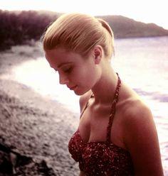 Grace Kelly, later Princess of Monaco (1929-1992)