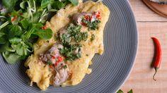 Receta   Tortilla de ostras con salsa de chile - canalcocina.es