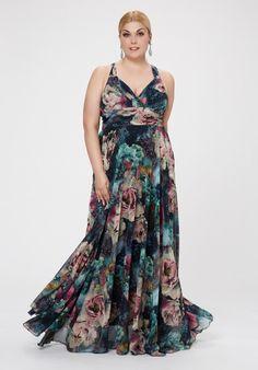 Bodas vestidos gasa tallas grandes