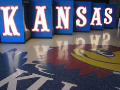 I want K-A-N-S-A-S basketball season tickets. Maybe someday...