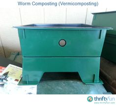 There are many ways to compost. One of the most beneficial is vermicomposting or worm composting with a worm farm composting tower. There are many prefab worm composters on the market. I chose the lowest maintenance one that I could find. The worm tower comes in pieces and you can add more trays as needed.